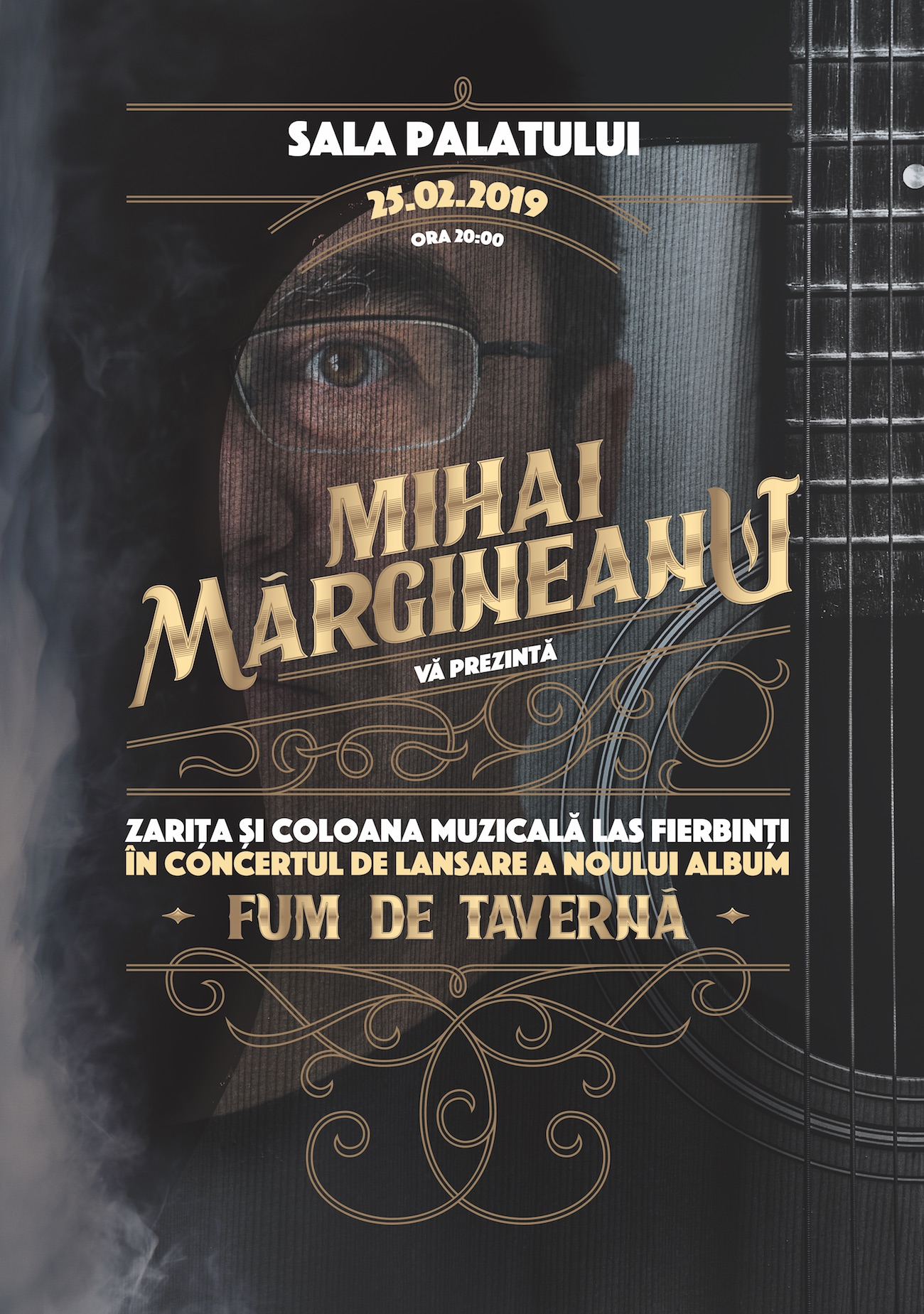 """Actorii din """"Las Fierbinti"""", alaturi de Mihai Margineanu in concert la Sala Palatului"""