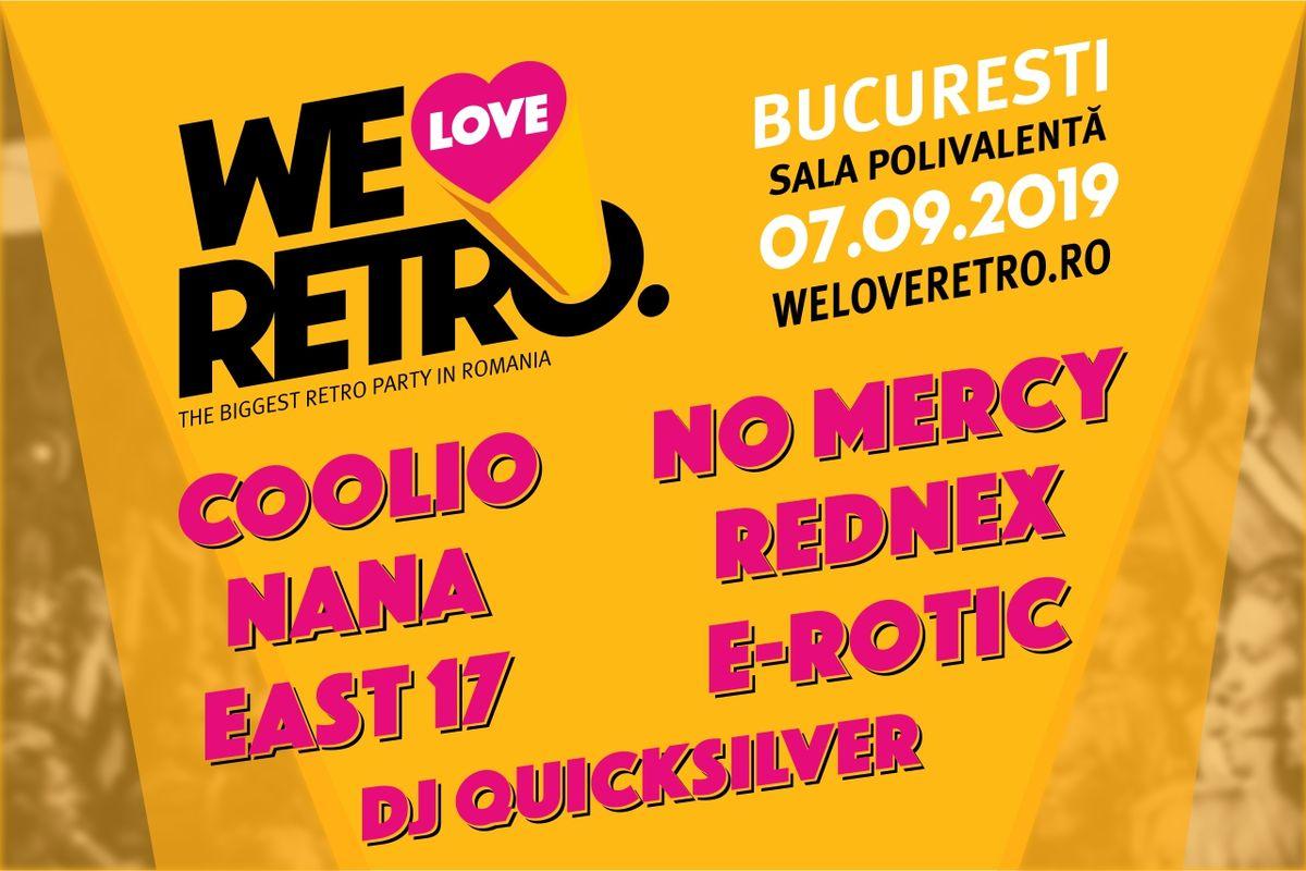 We Love Retro se intoarce la Bucuresti!