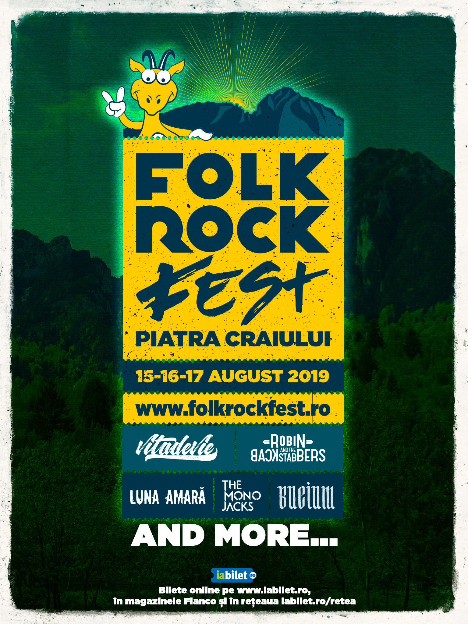 Rock, indie si folk la cel mai nou festival din Piatra Craiului, Folk Rock Fest