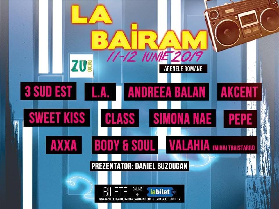 Artistii de pe afisul festivalului La Bairam au dezvaluit cum se pregatesc pentru marea petrecere din 11 si 12 iunie, de la Arenele Romane