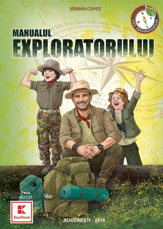 """Serban Copot lanseaza cartea """"Manualul exploratorului"""""""