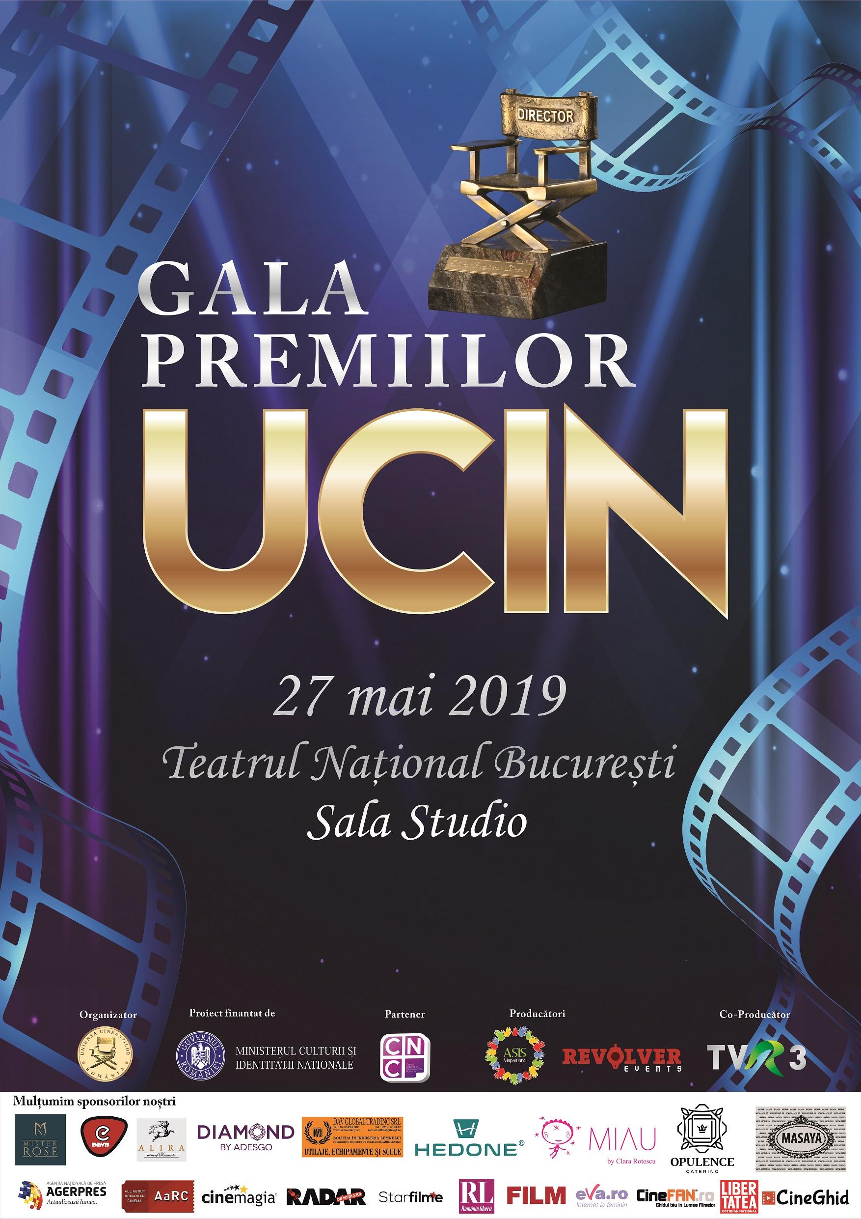 Uniunea Cineastilor din Romania anunta nominalizarile din acest an pentru Premiile UCIN