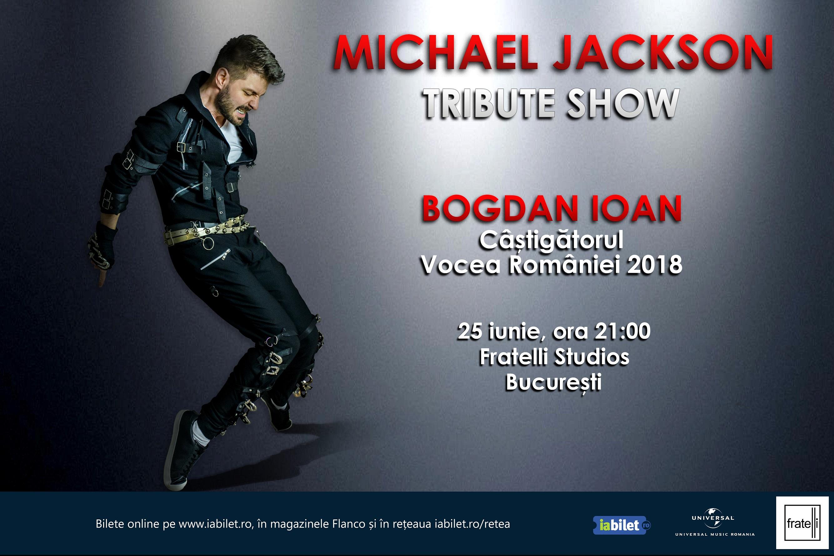 Celebrul blogger Shady Shae vine special in Romania, la concertul Michael Jackson Tribute Show pentru a-l asculta live pe Bogdan Ioan