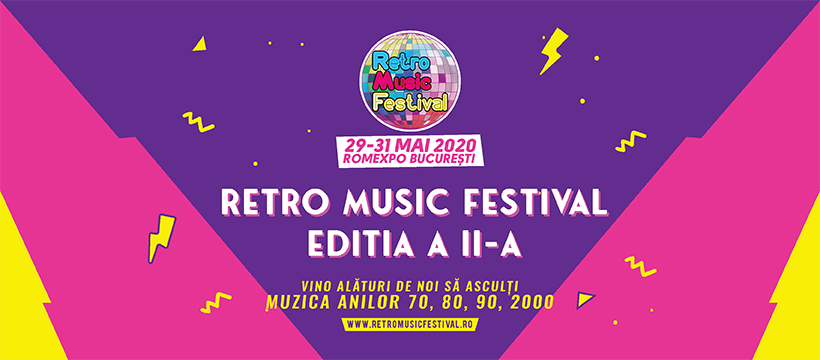 Retro Music Festival revine in 2020, la Bucuresti
