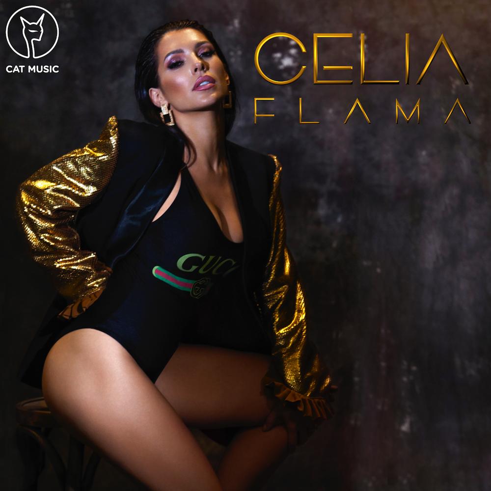 """Celia a filmat pentru """"Flama"""", noul sau videoclip, pe strazile din Las Vegas"""