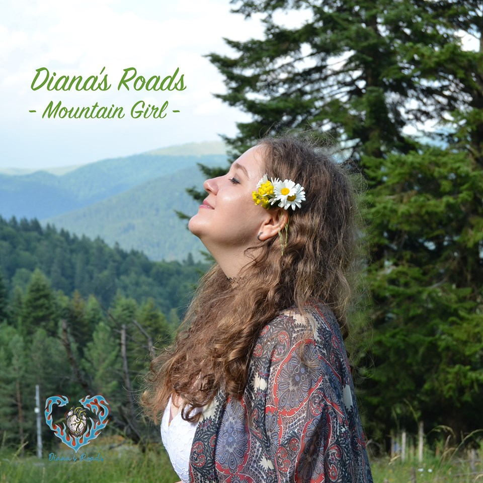 DIANA'S ROADS lanseaza al doilea single 'Mountain Girl'|Concert de debut pe scena Hard Rock Cafe