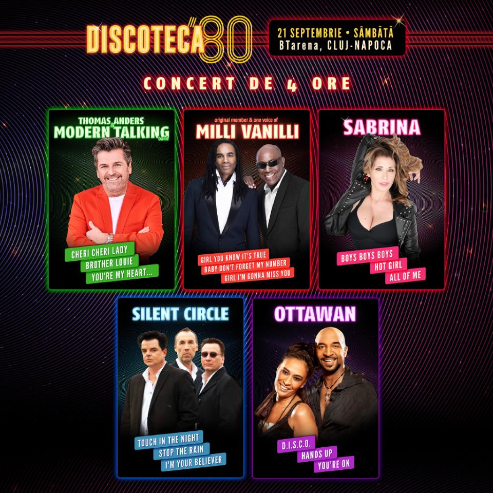 Discoteca '80 ajunge la cea de-a treia editie