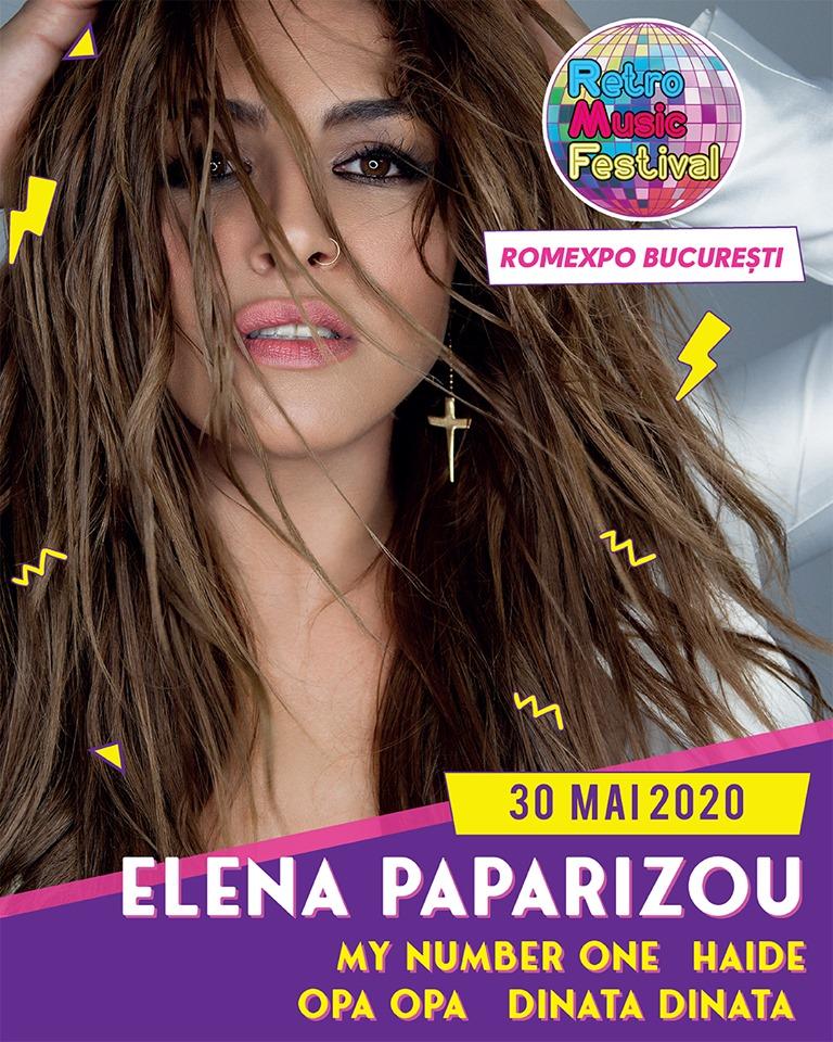 Elena Paparizou vine la Retro Music Festival 2020!