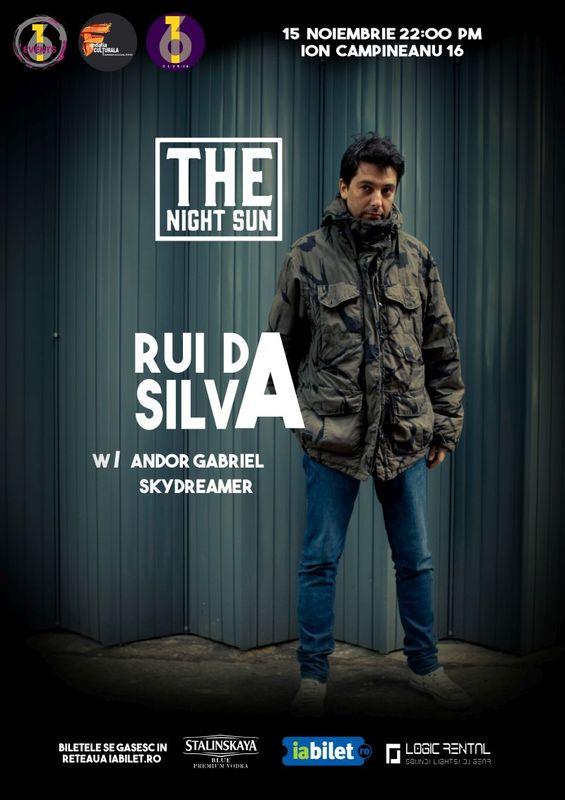 Dj-ul Rui Da Silva da un mega party la Club 16 din Bucuresti pe 15 noiembrie