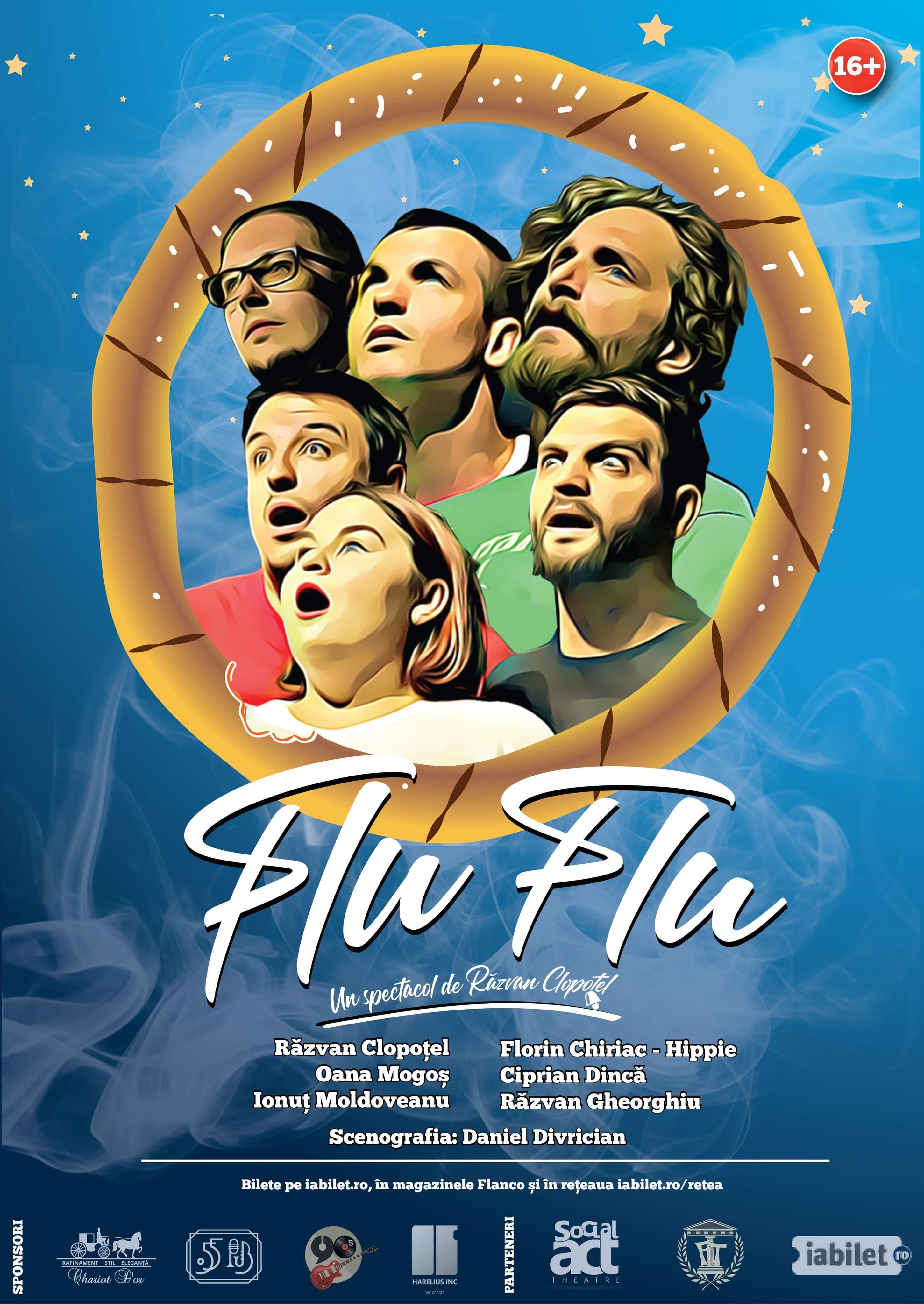 """Braila, vino la super concertul FLU FLU pe 29 noiembrie la Teatrul """"Maria Filotti""""!"""