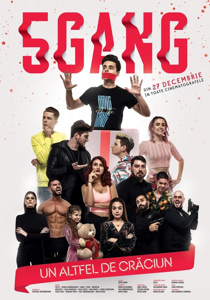 """Filmul de comedie """"5GANG, un altfel de Craciun"""", din 27 decembrie in cinematografele din toata tara"""