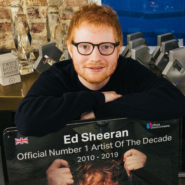 Ed Sheeran este artistul britanic al deceniului