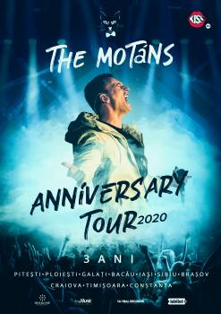 The Motans sarbatoreste trei ani de activitate muzicala printr-un turneu aniversar