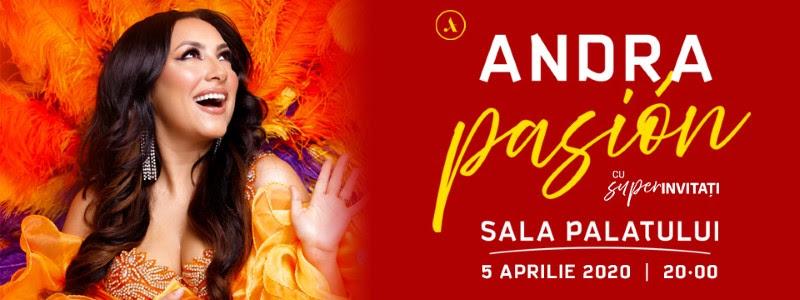 Andra aduce pasiunea latino in Romania cu super productia Pasión!