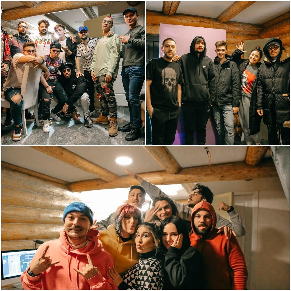 """Finalistii de la """"Magic In 5"""" au filmat primele lor videoclipuri alaturi de ADDA, Alex Velea si Vanotek"""