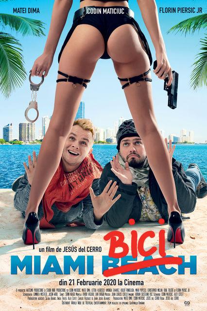 """De astazi sunt disponibile biletele in avans pentru """"Miami Bici"""". Producatorii filmului dau startul campaniei  """"In Miami USA, cu Codin si Bromania!"""""""