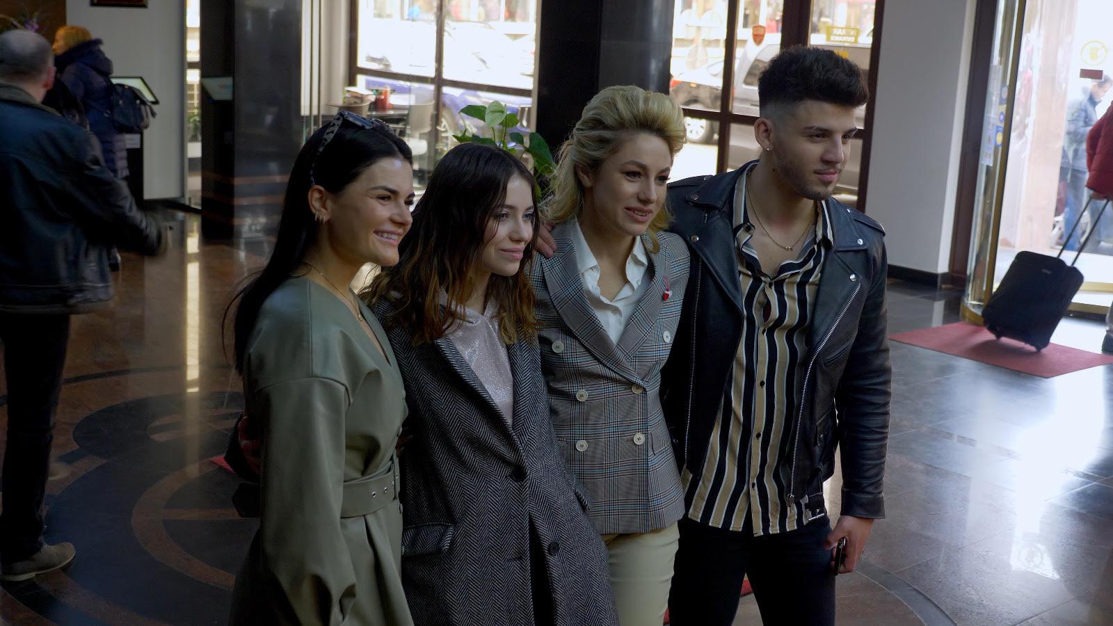 Roxen – întâlnire emoționantă cu reprezentanții Eurovision din Cipru, Norvegia și Republica Moldova!