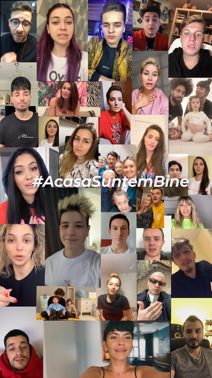 Artiștii și creatorii de conținut Global Records spun: #AcasaSuntemBine