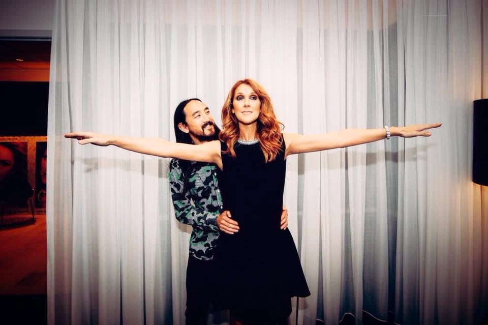 """Celine Dion & Steve Aoki –  remix senzațional pentru """"My heart will go on"""""""