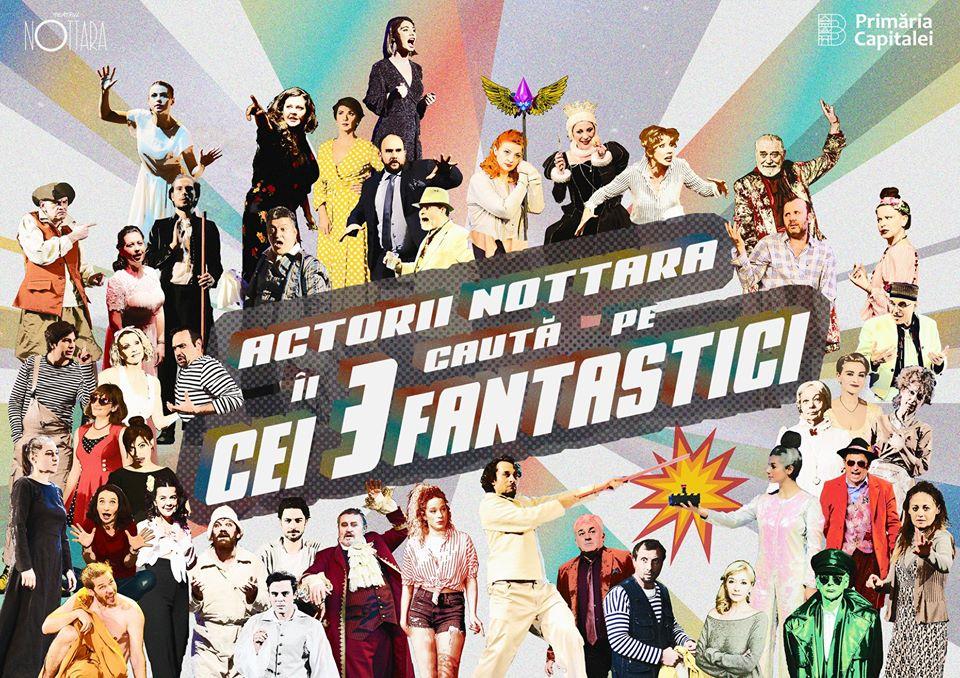 Teatrul Nottara caută spectatori fantastici!