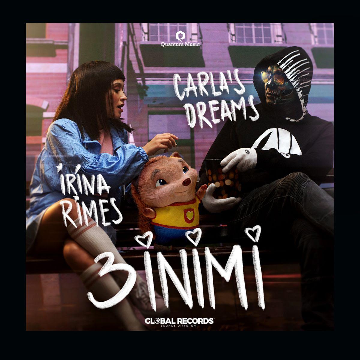 Global Records anunță prima colaborare dintre Irina Rimes și Carla's Dreams! Artiștii lansează piesa și videoclipul 3 inimi!