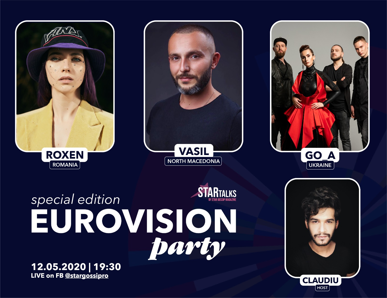 EXCLUSIV | EUROVISION PARTY LIVE ON FACEBOOK @STAR TALKS