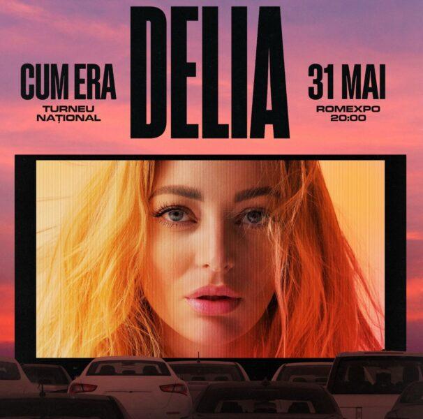 """Delia anunţă primul concert drive-in din România, """"Cum era"""""""