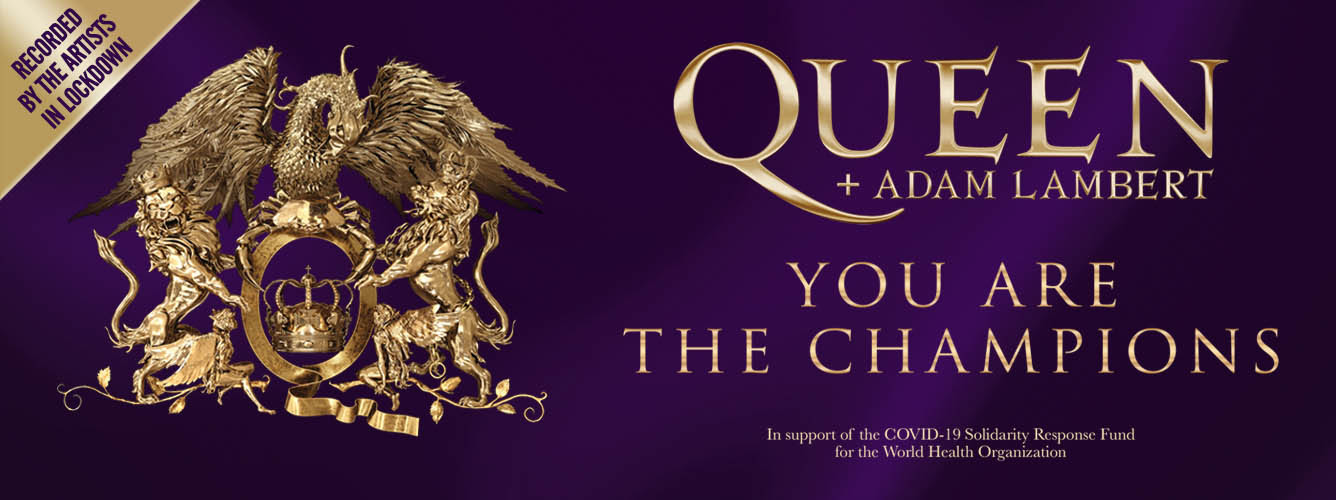 """YOU Are The Champions – Queen + Adam Lambert au lansat o versiune a emblematicei melodii """"We Are The Champions"""","""
