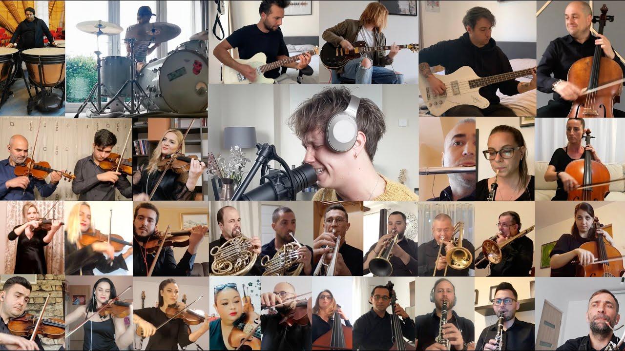 Orchestra Simfonică Bucureşti, piesă rock pe acorduri clasice, în colaborare cu Nothing But Thieves