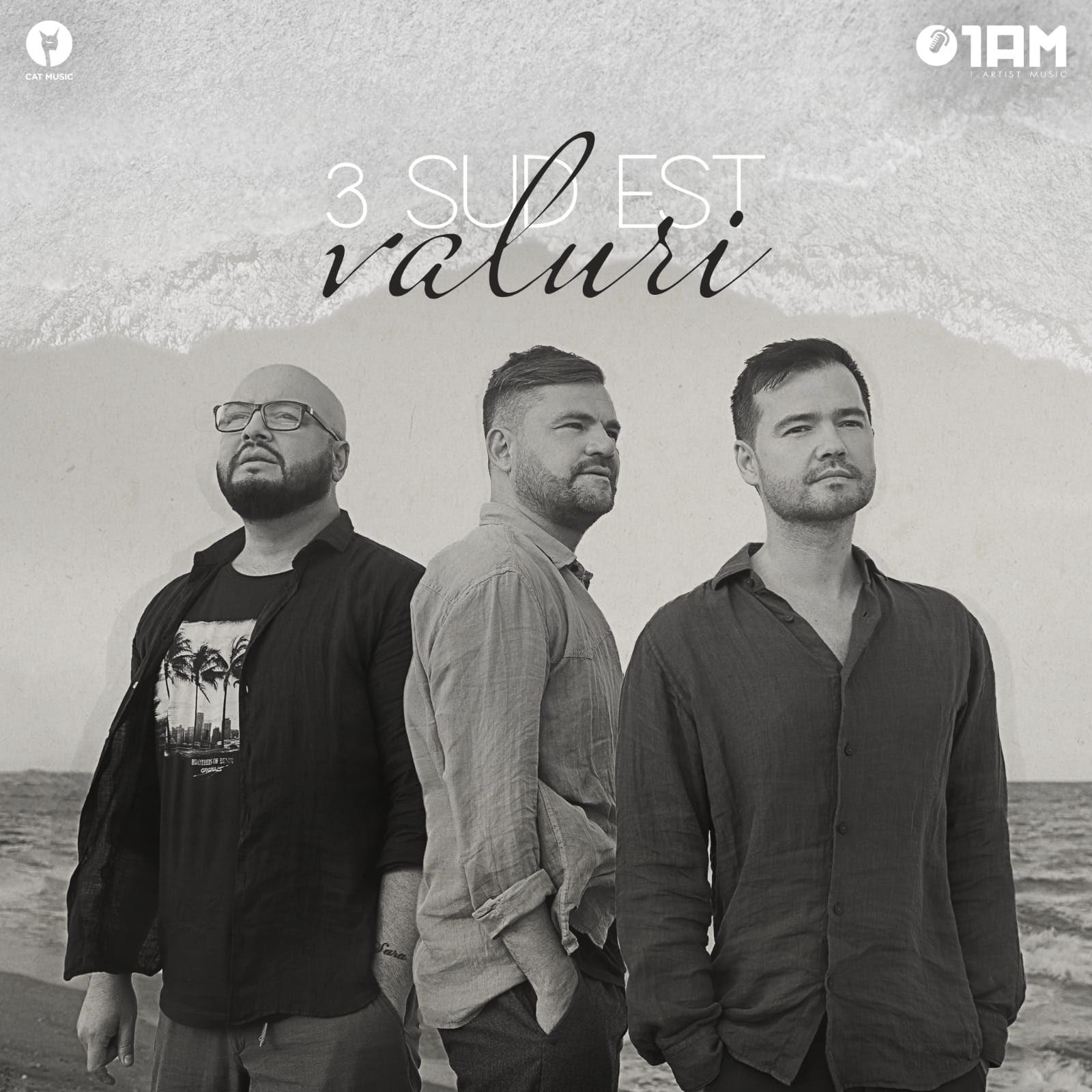 """3 Sud Est face """"Valuri"""" cu un nou single"""