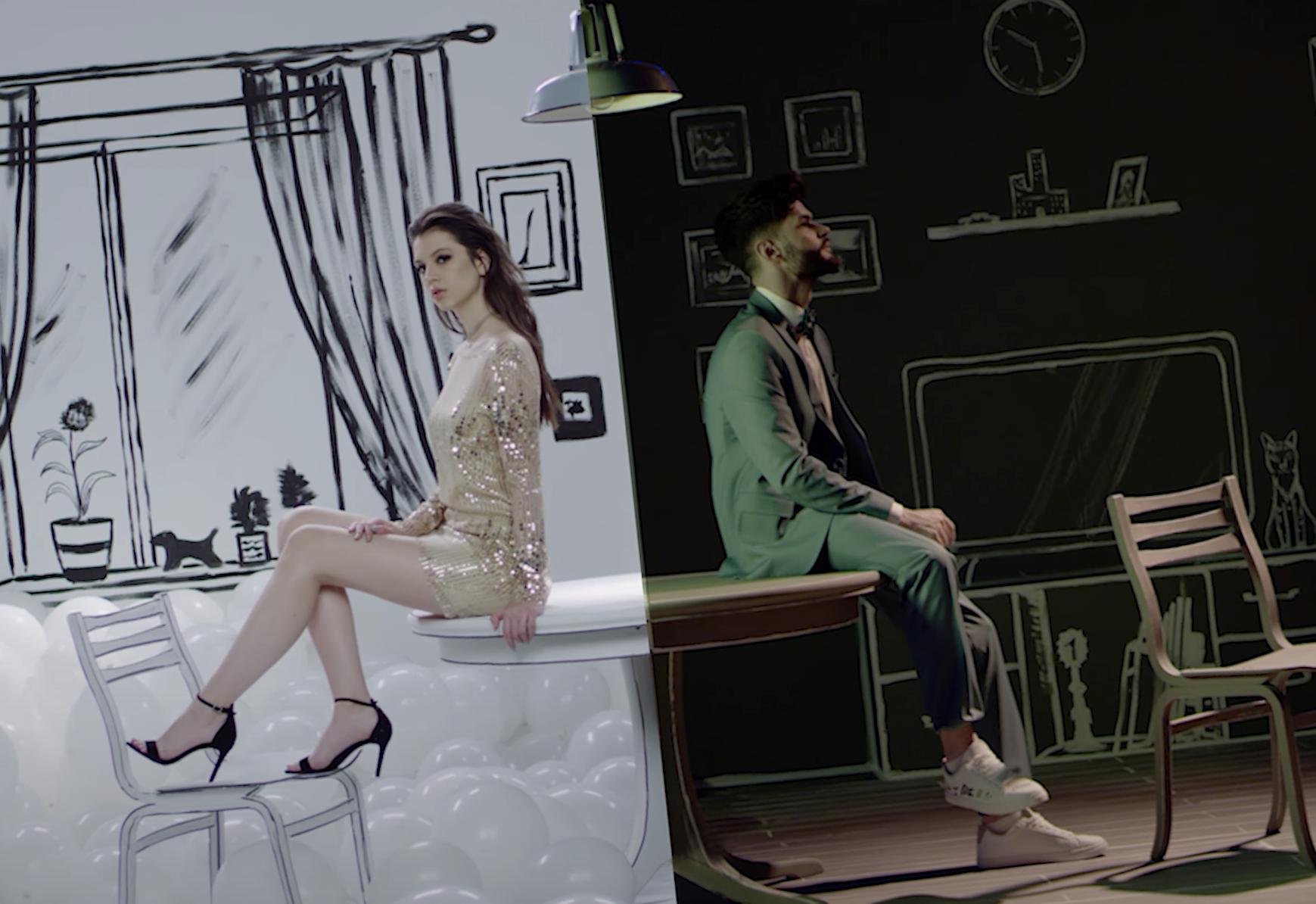 """Cleopatra Stratan și Edward Sanda lansează videoclipul """"Dragoste, vă rog!"""""""