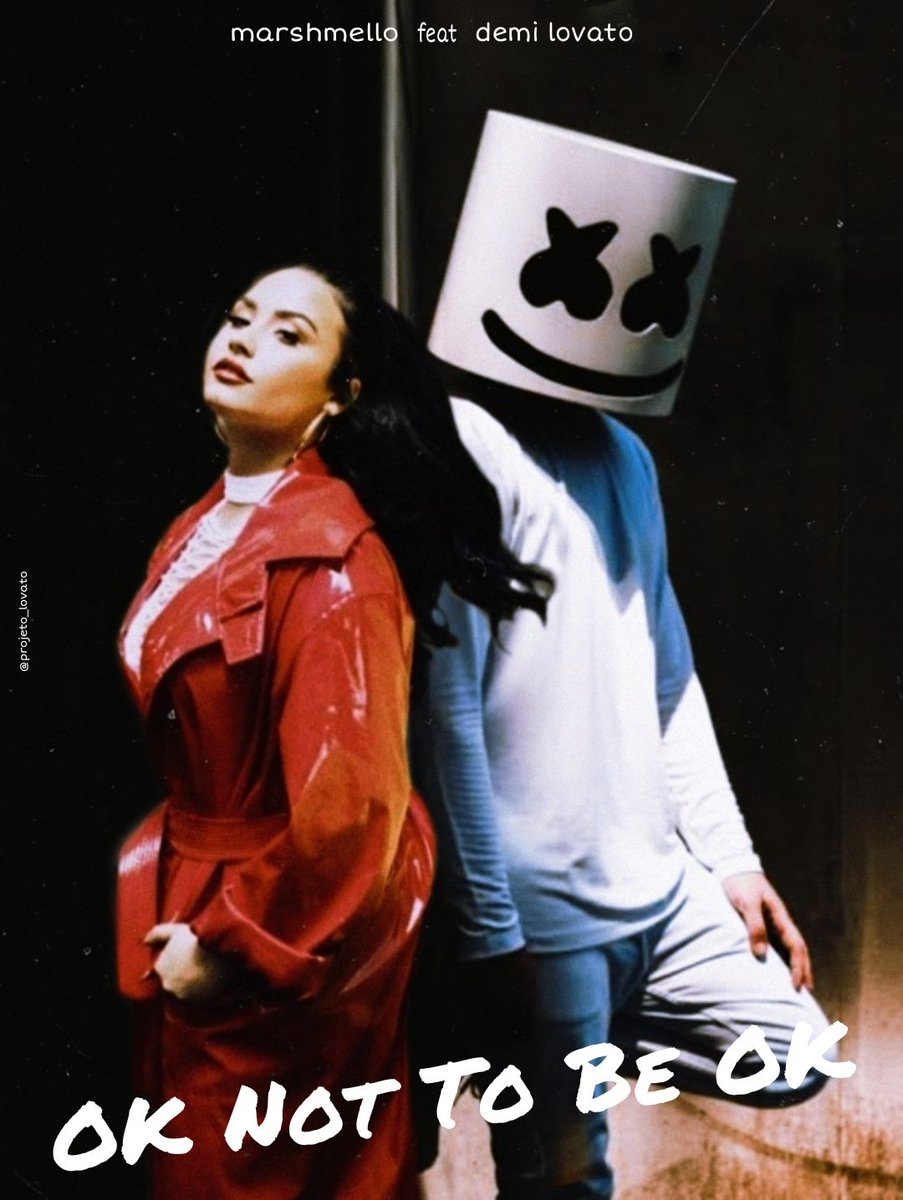 "Starurile internationale Marshmello si Demi Lovato colaboreaza pentru noul lor single ""Ok Not To Be Ok"""